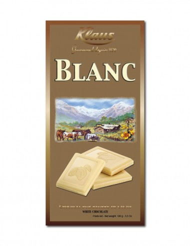 TABLETTE OR CHOCOLAT BLANC 100G
