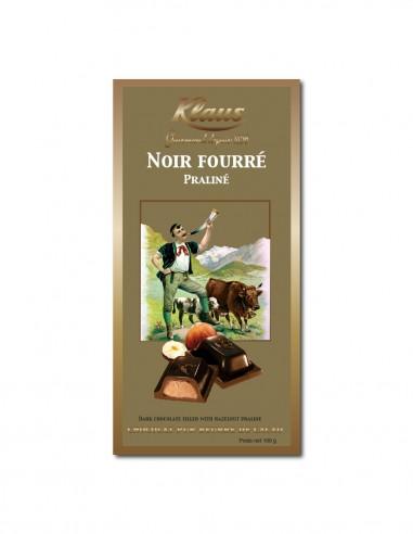 TABLETTE OR CHOCOLAT NOIR 49% FOURRÉE...