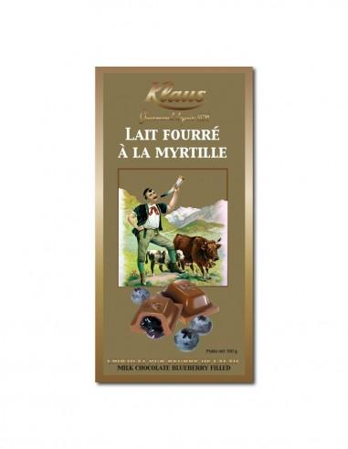 TABLETTE OR CHOCOLAT LAIT 30% FOURRÉE...