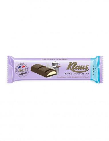 BARRE CHOCOLAT DOUBLE LAIT 35G