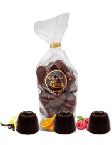 BOULES CHOCOLAT NOIR FOURRÉES CRÈME...