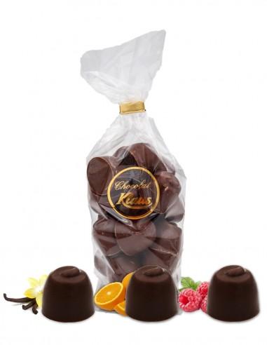 BOULES CHOCOLAT LAIT FOURRÉES CRÈME...